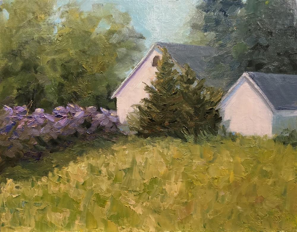"""""""Somewhere near Stillwater"""" original fine art by Judith Anderson"""