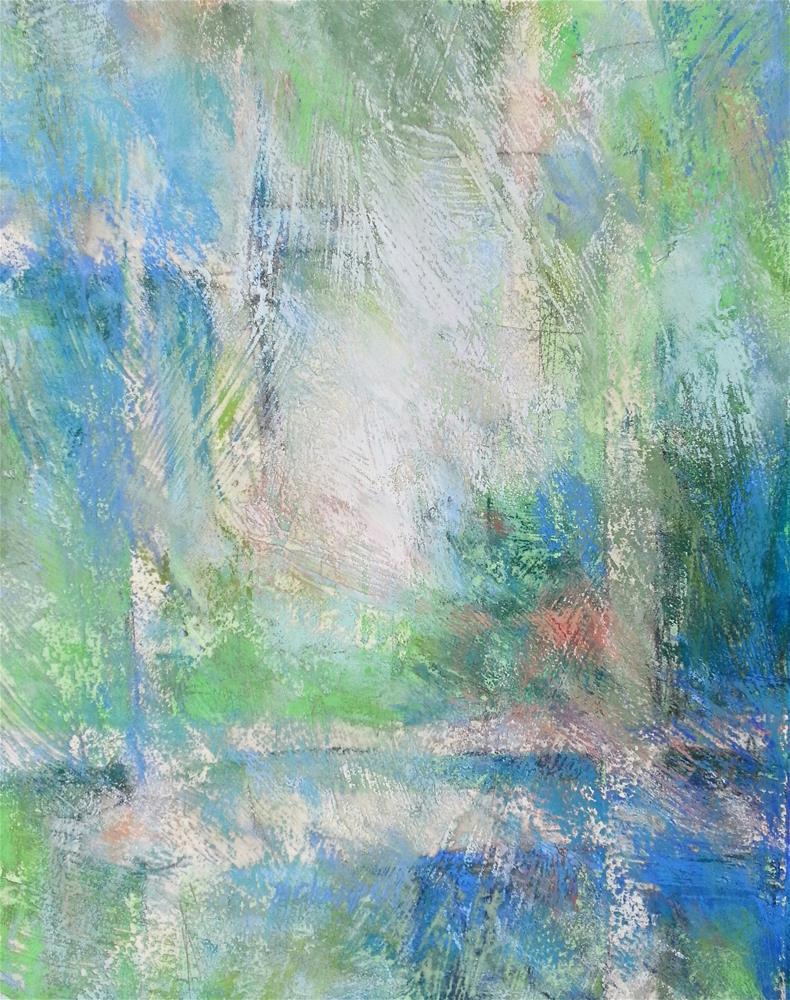 """Grid"" original fine art by Becky Chappell"