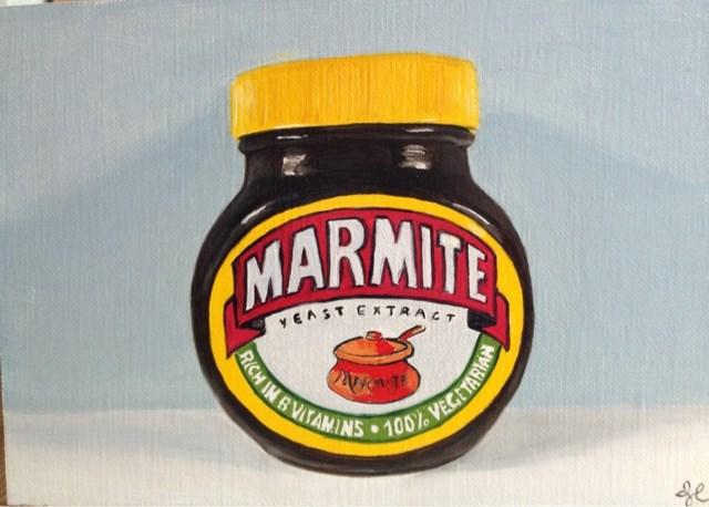 """Marmite"" original fine art by James Coates"