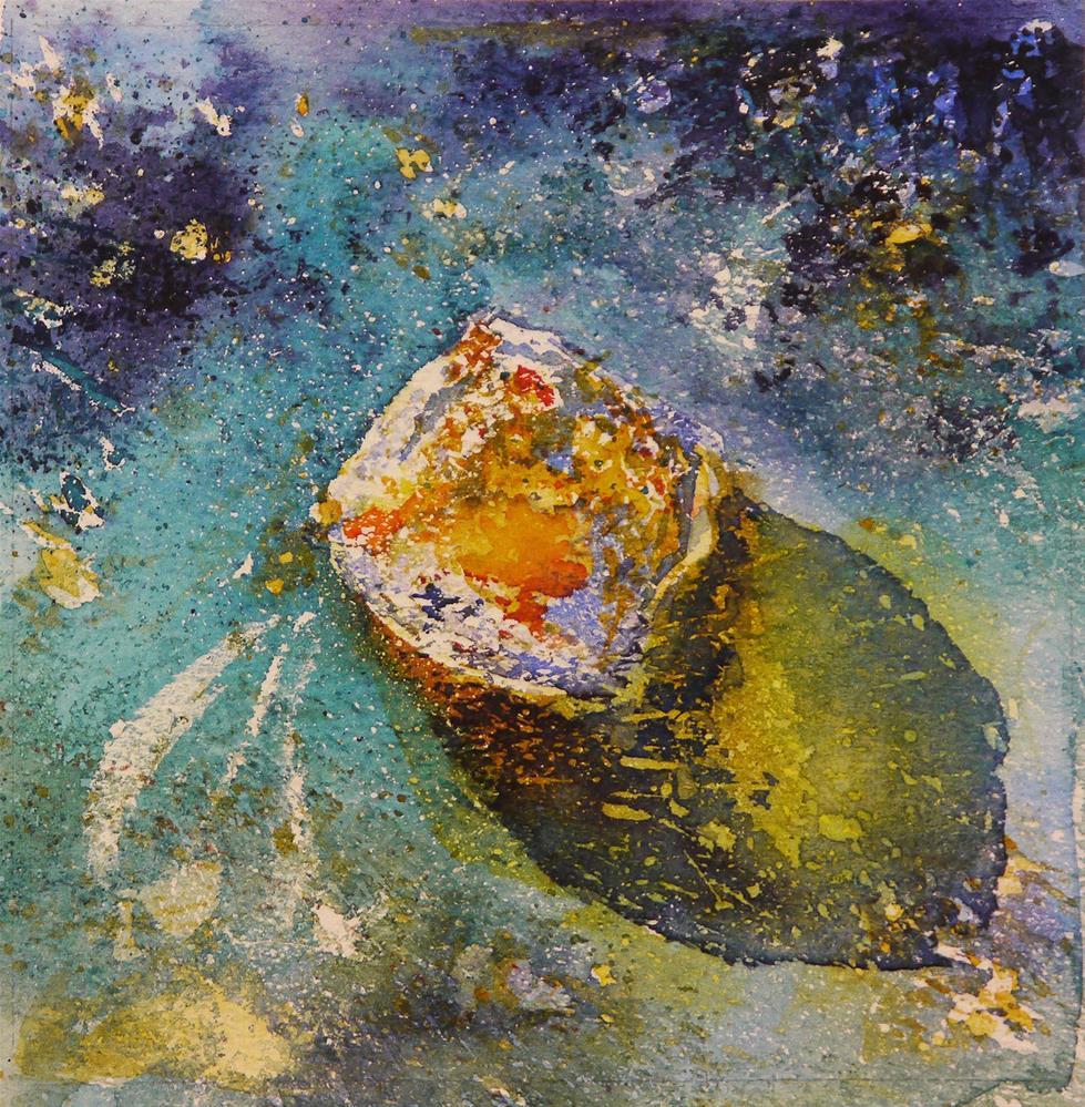 """rusty 6"" original fine art by Beata Musial-Tomaszewska"