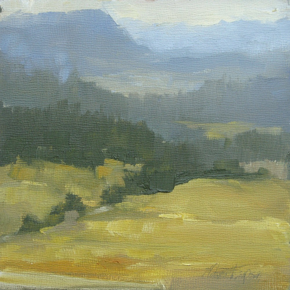 """Quiet Day in the Teanaway"" original fine art by Melanie Thompson"