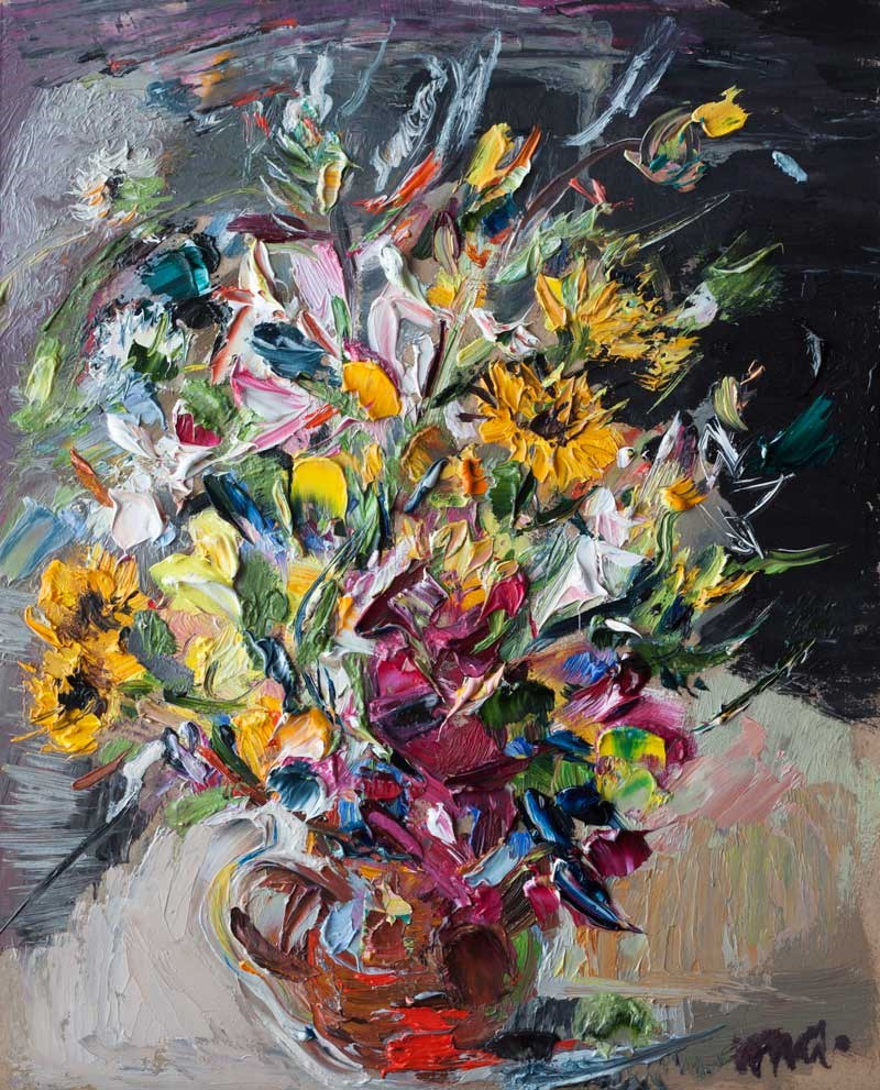 """Bouquet"" original fine art by Anna  Fine Art"