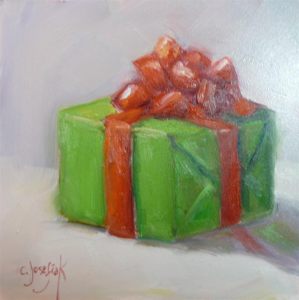 """Countdown to Christmas"" original fine art by Carol Josefiak"
