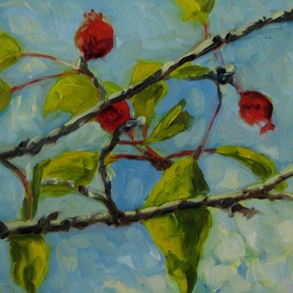 """Fall"" original fine art by Mb Warner"