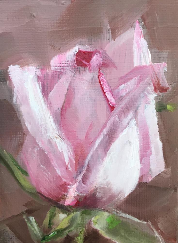 """Rose Study"" original fine art by Gary Bruton"