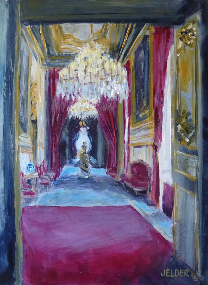 """Paris No. 81"" original fine art by Judith Elder"