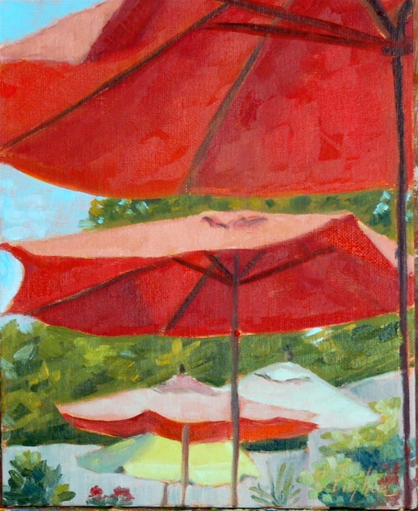 """""""Afternoon Memories"""" original fine art by Carol Pighin"""