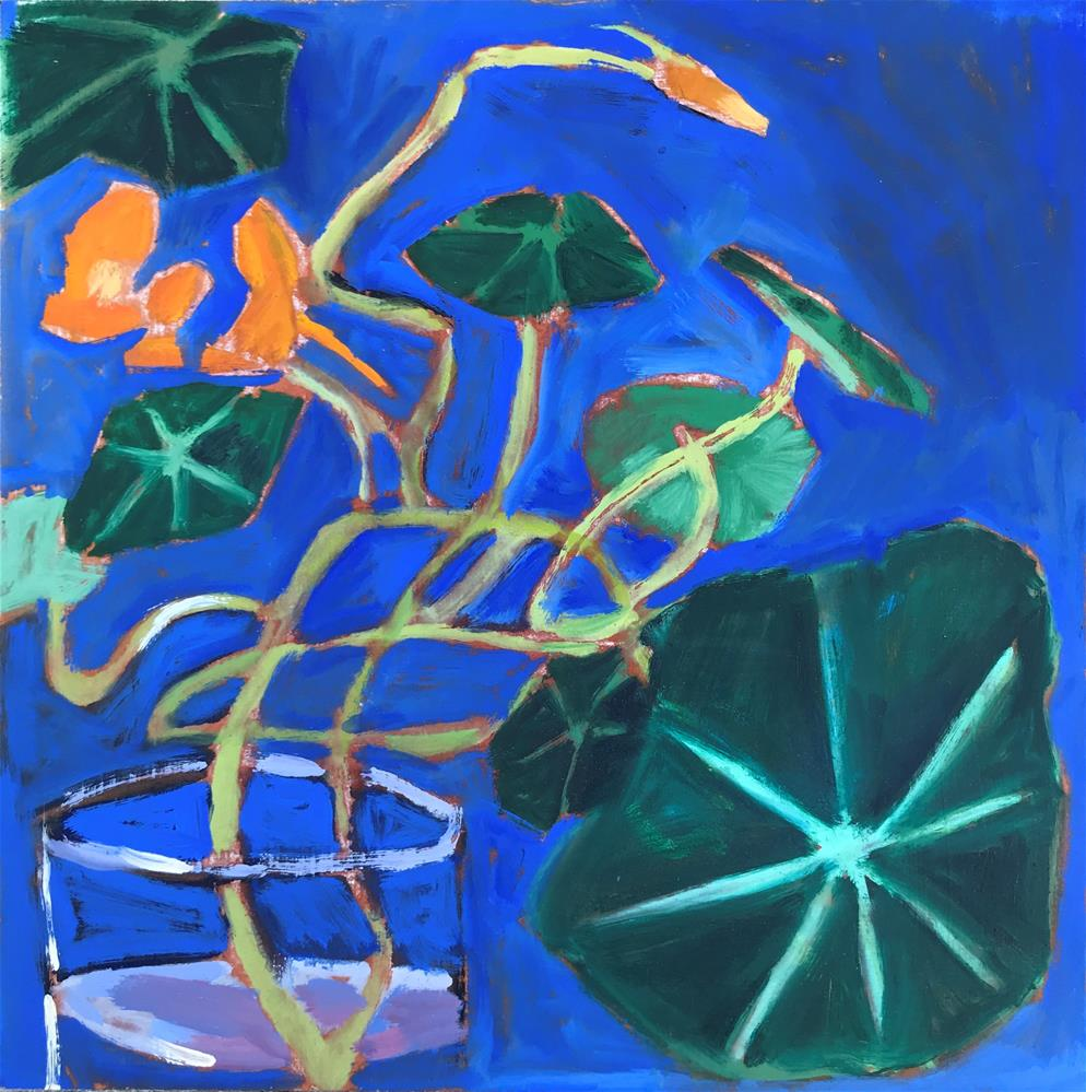 """Tango Tangle"" original fine art by Pamela Hoffmeister"