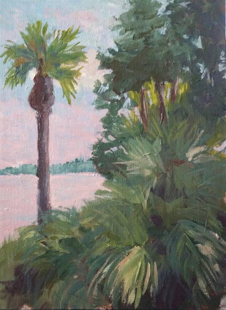 """Tropics"" original fine art by Sharon Cullen"