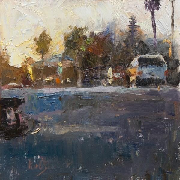 """Batemans Corner"" original fine art by Randall Cogburn"
