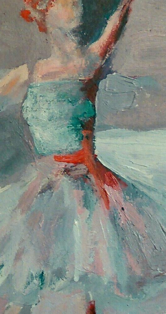 """""""The Dance"""" original fine art by Ann Rudd"""