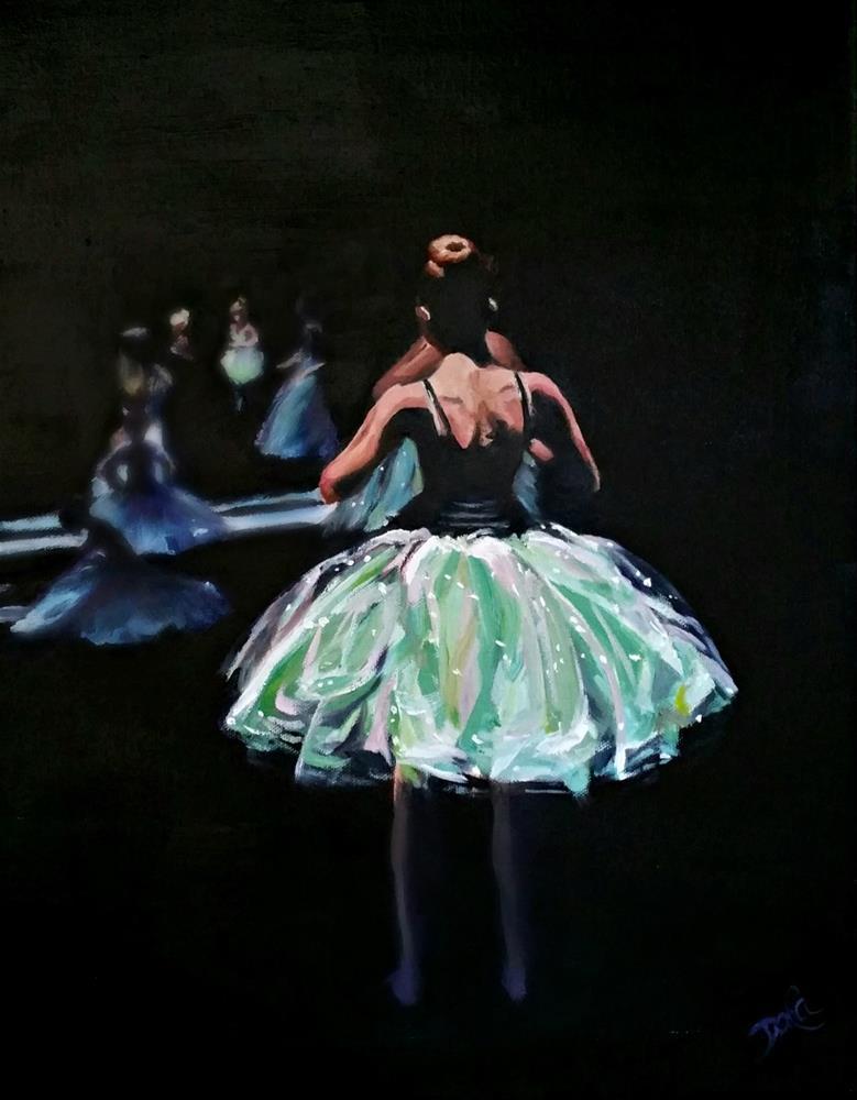 """Breathlessly Waiting"" original fine art by Dana C"