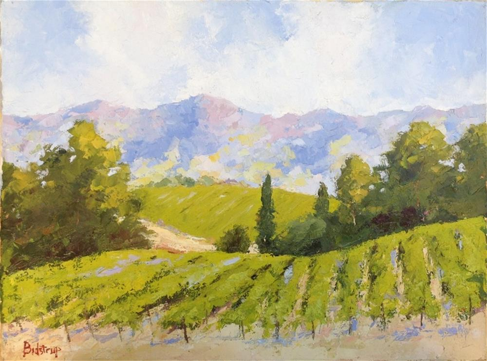 """Sonoma Vines"" original fine art by Mark Bidstrup"