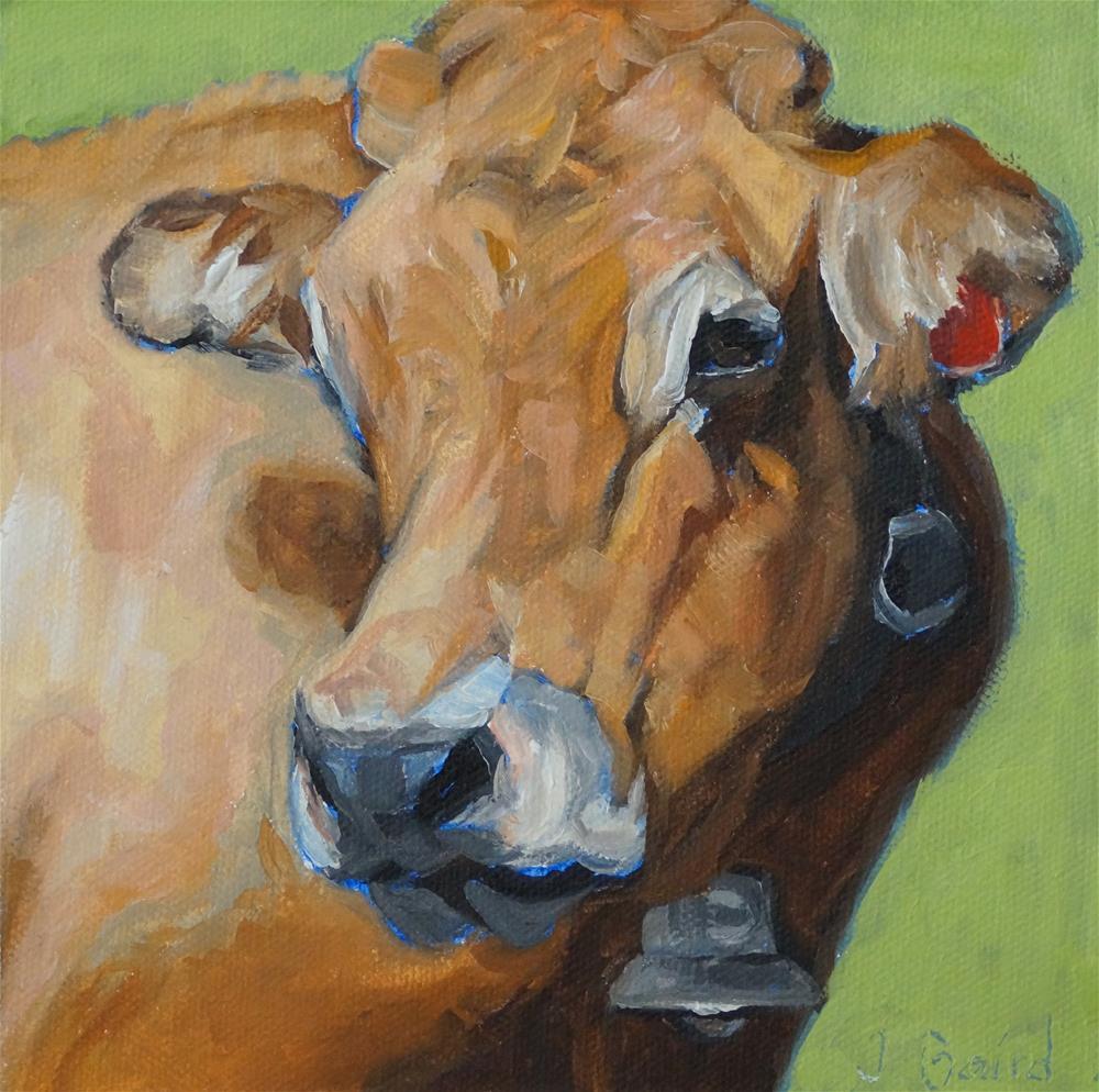 """Laguiole Belle"" original fine art by Jeanette Baird"