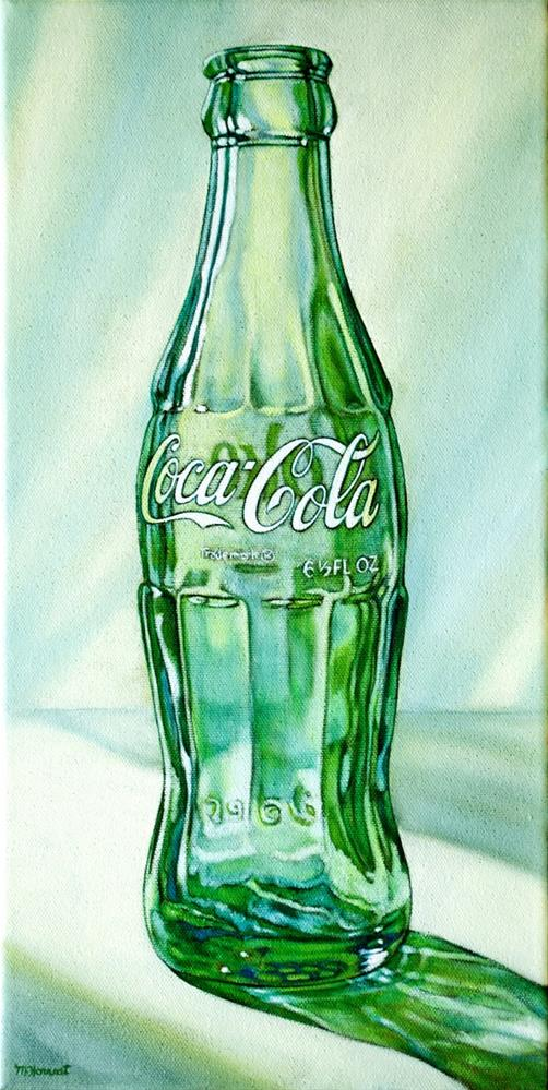 """Coke Bottle Two"" original fine art by Margaret Horvat"