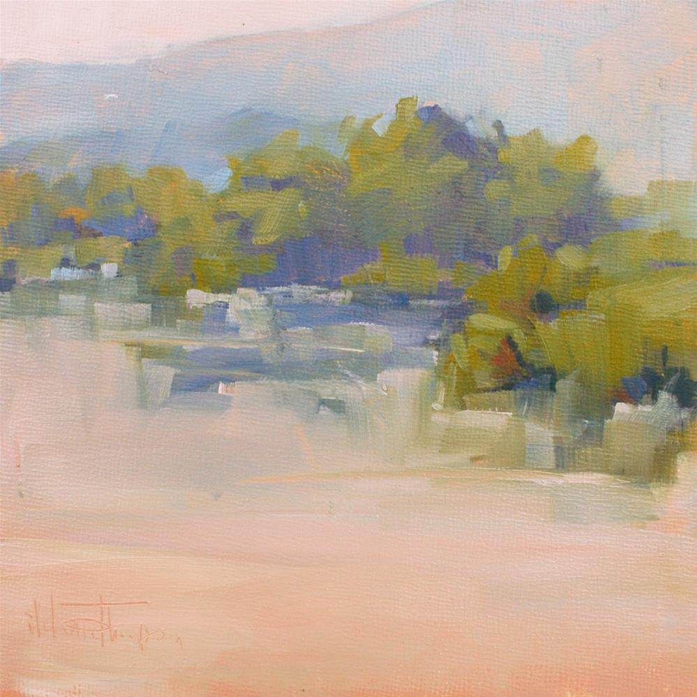 """Summers Veil - Plein Air"" original fine art by Melanie Thompson"