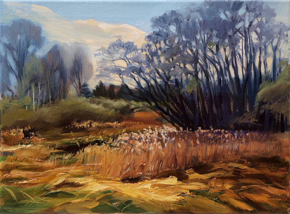 """landscape"" original fine art by Beata Musial-Tomaszewska"