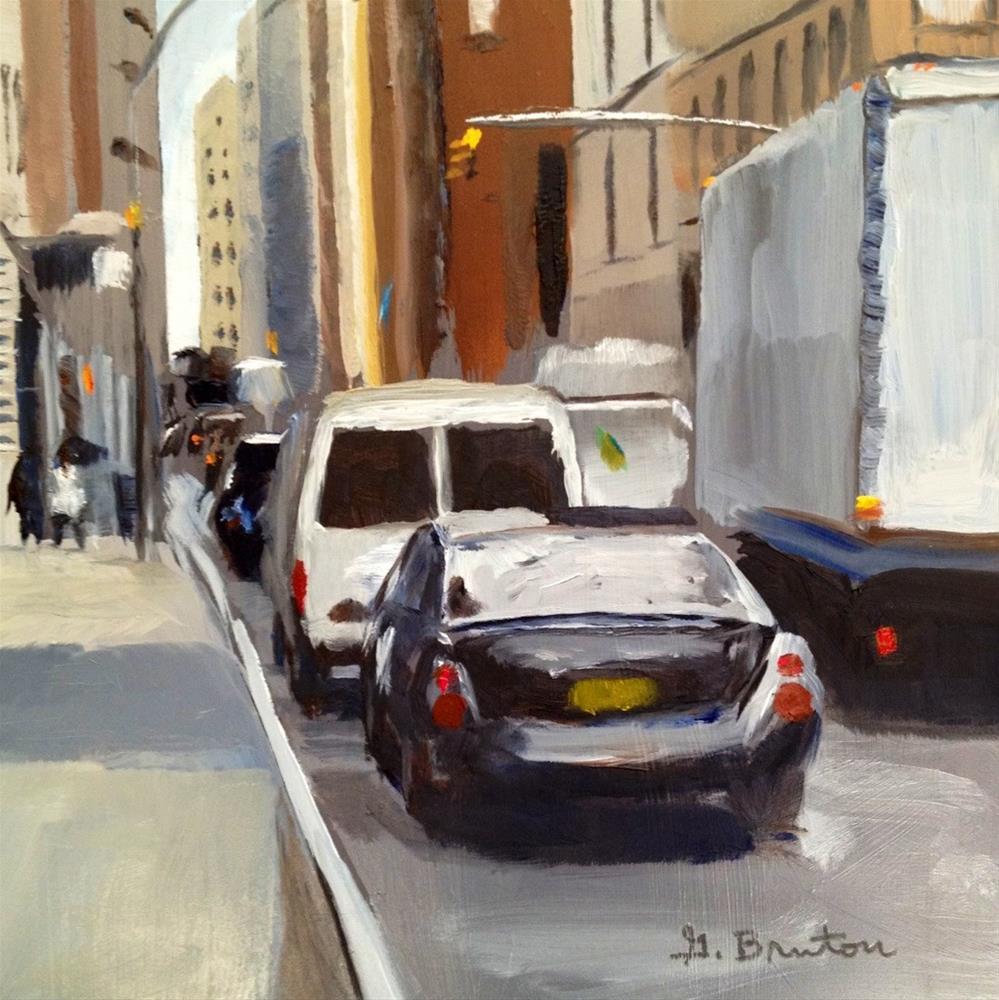 """NYC"" original fine art by Gary Bruton"