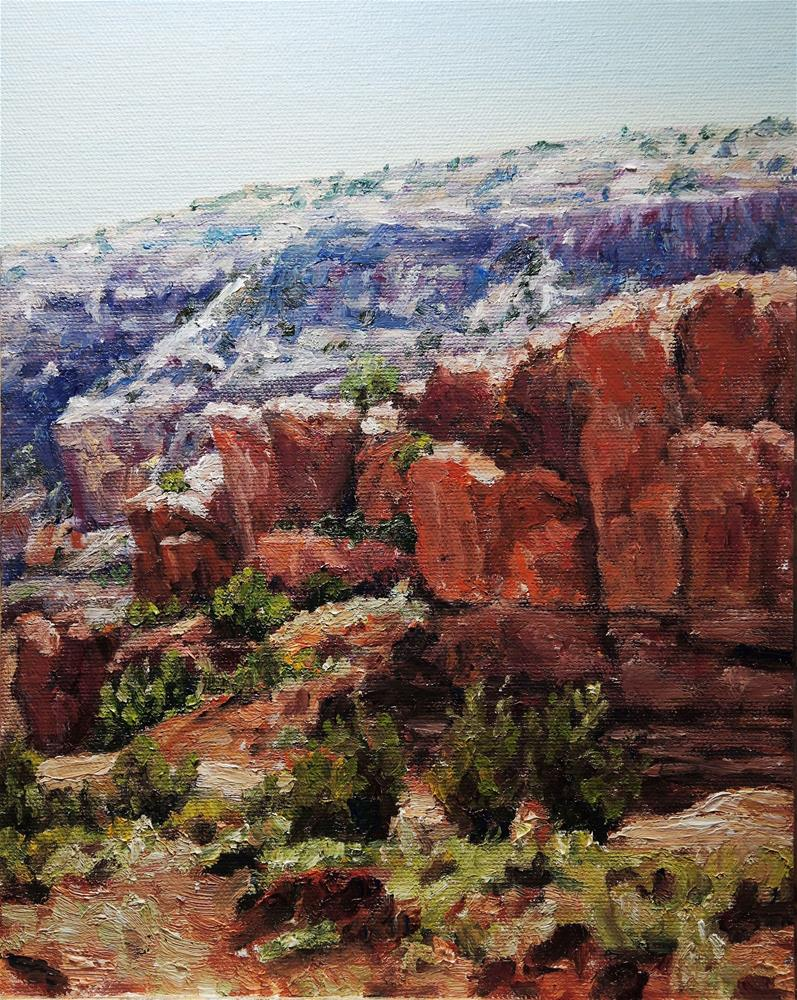 """Back to Abiquiu"" original fine art by Candi Hogan"
