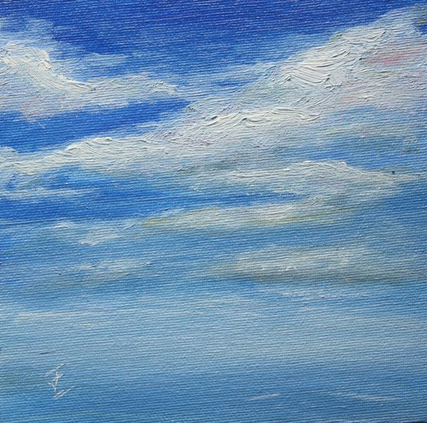 """Only Sky"" original fine art by Jane Frederick"