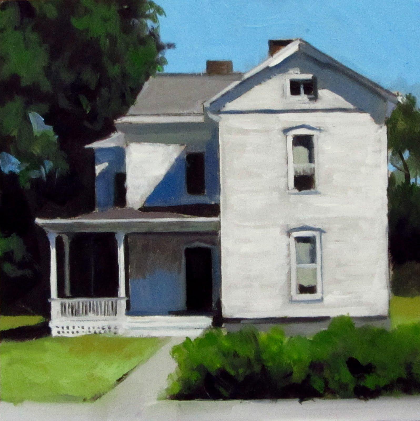 """""""DAILY DIAPER #195 A White Echo"""" original fine art by Brian Burt"""