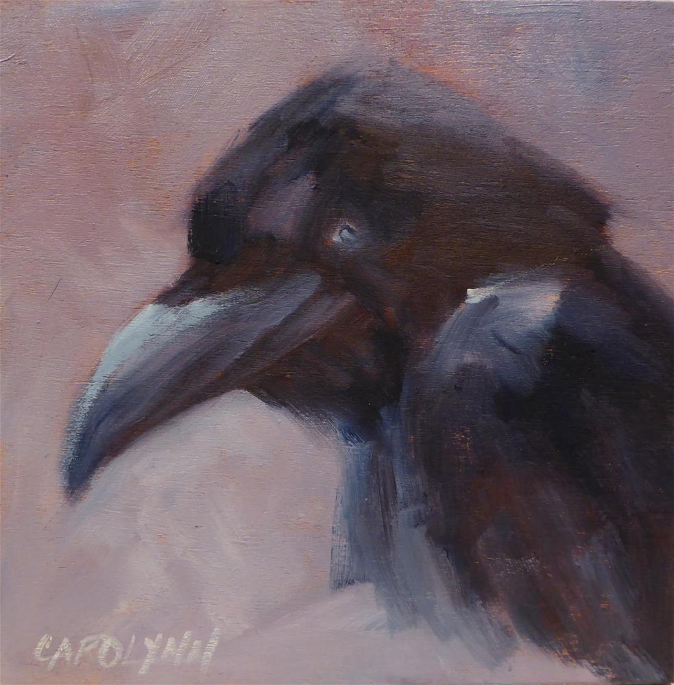 """""""He Speaks For Himself!"""" original fine art by Carolynn Doan"""