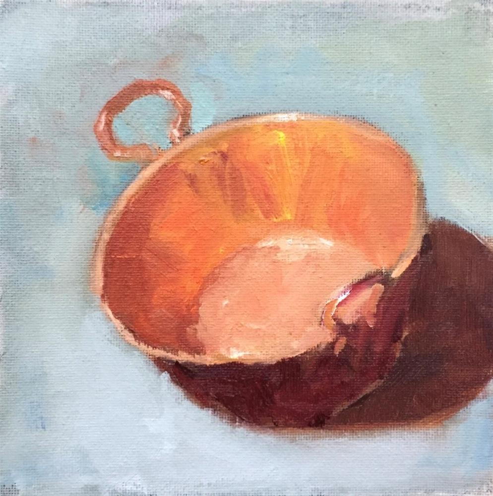 """Copper Pot 2"" original fine art by David Wesselman"