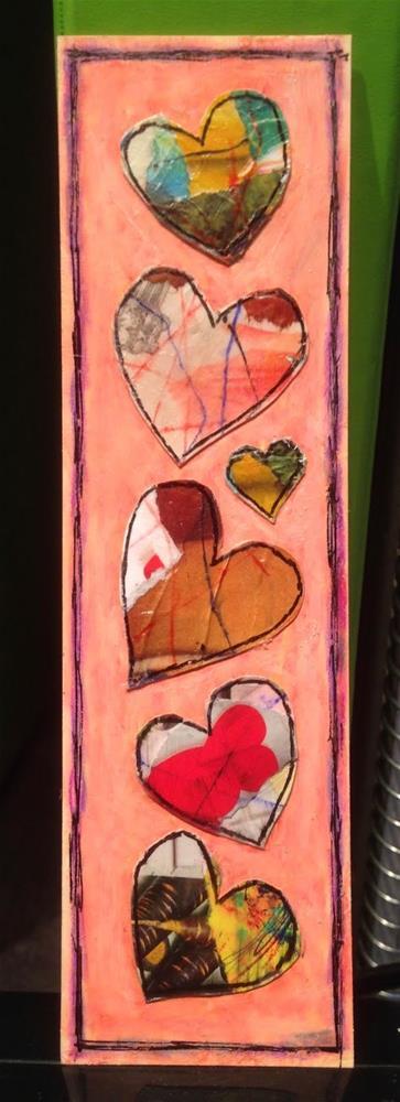 """""""Paper Prayer 33"""" original fine art by Dotty  Seiter"""