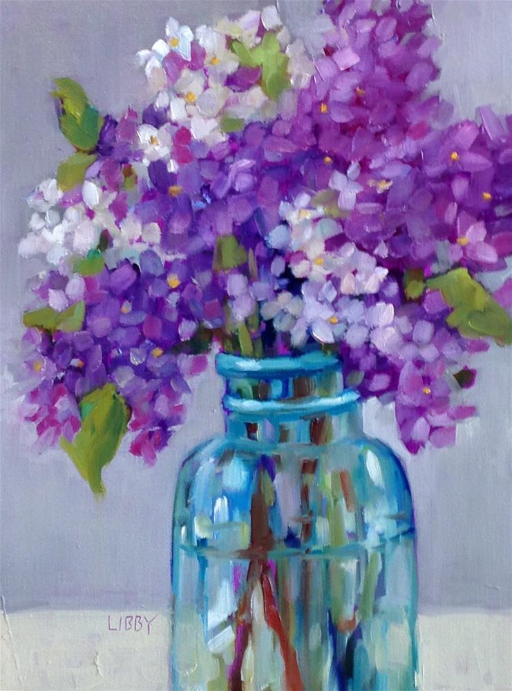 """Bespoke"" original fine art by Libby Anderson"