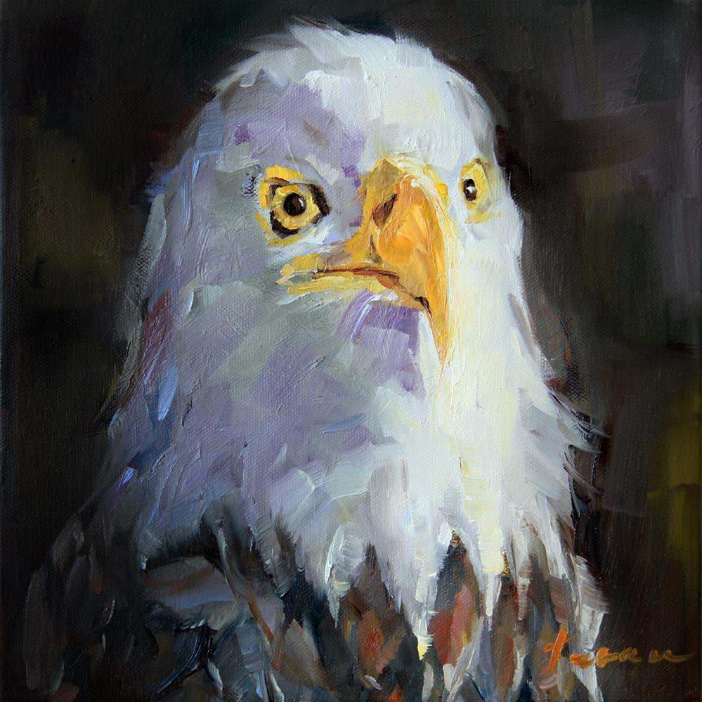 """Eagle"" original fine art by Teresa Yoo"