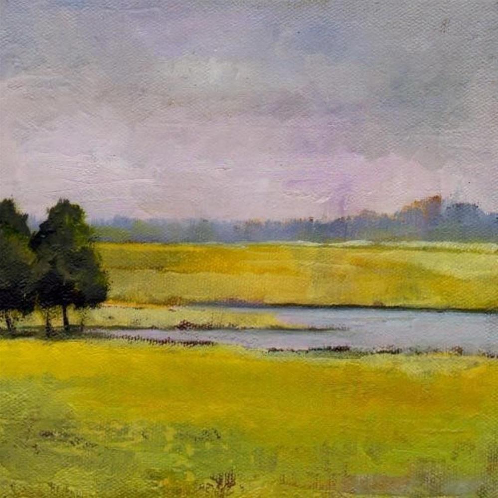 """NC land #6"" original fine art by Vova DeBak"