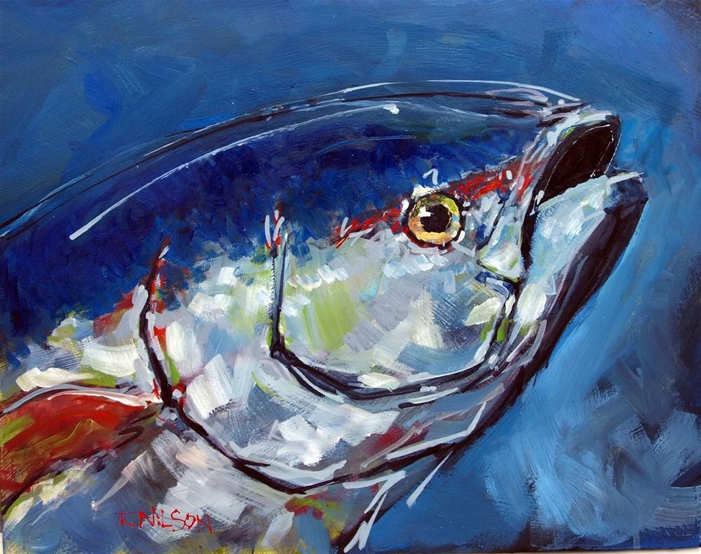 """Tuna Study"" original fine art by Rick Nilson"