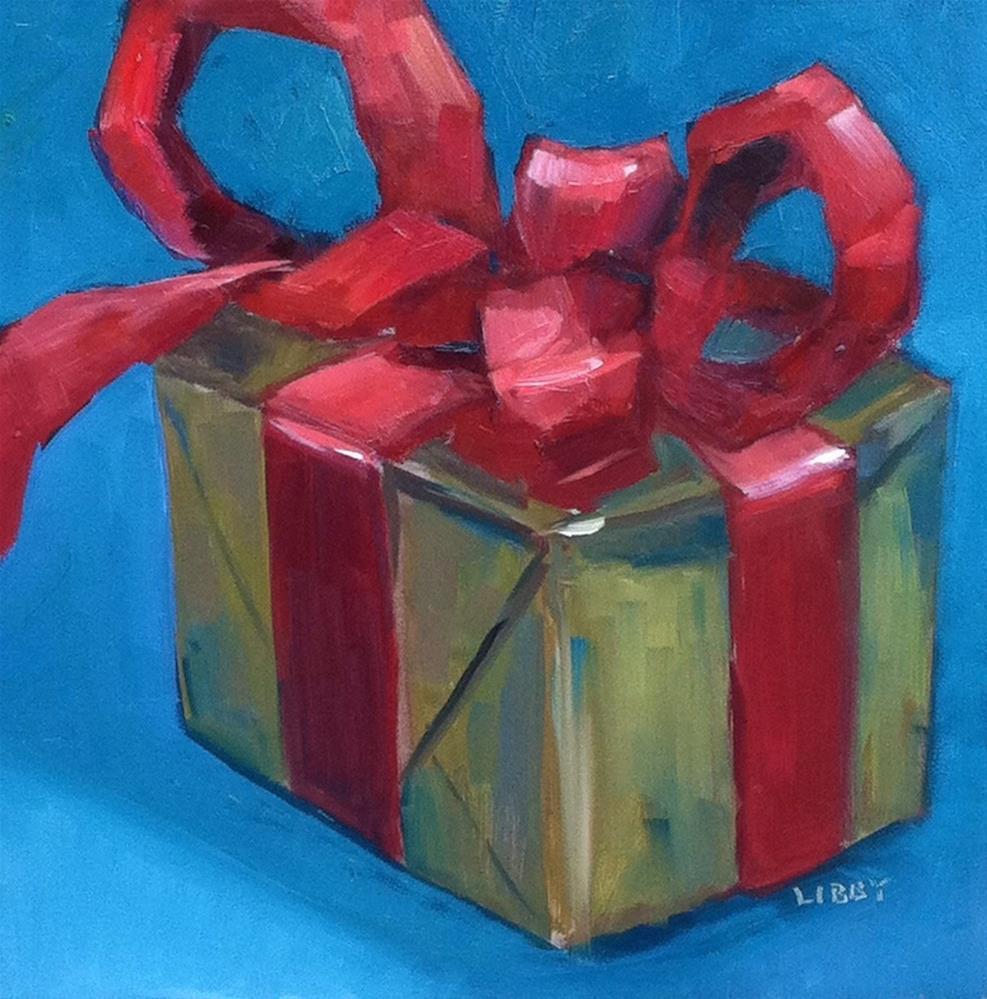 """Happy Birthday"" original fine art by Libby Anderson"