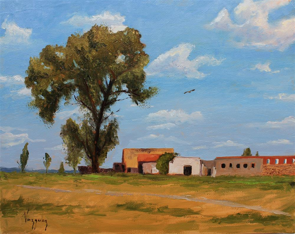 """Rural Landscape"" original fine art by Marco Vazquez"