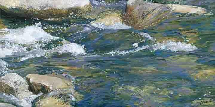 """Water 2"" original fine art by Nadi Spencer"