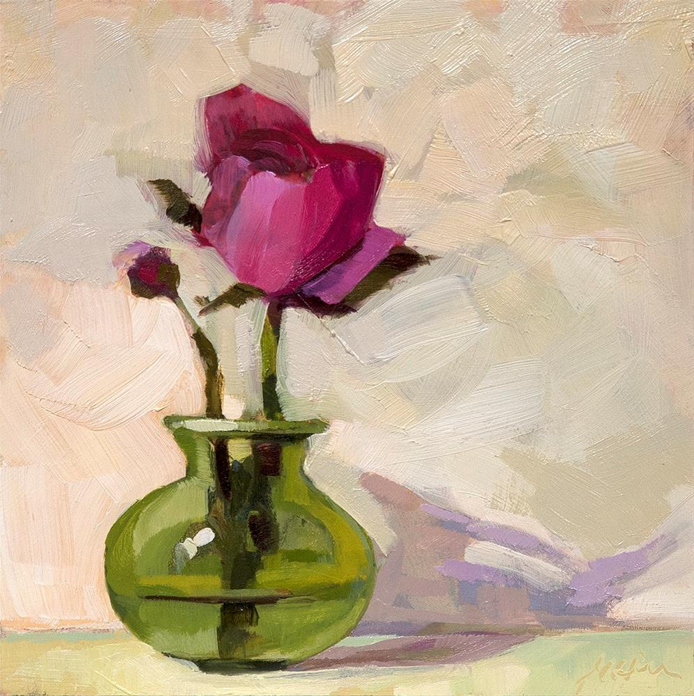 """Ranunculus II"" original fine art by Miriam Hill"