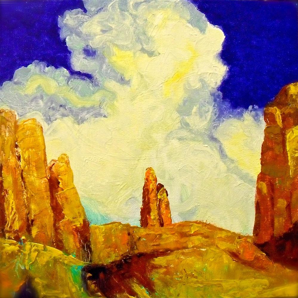 """High Country"" original fine art by Karen Roncari"