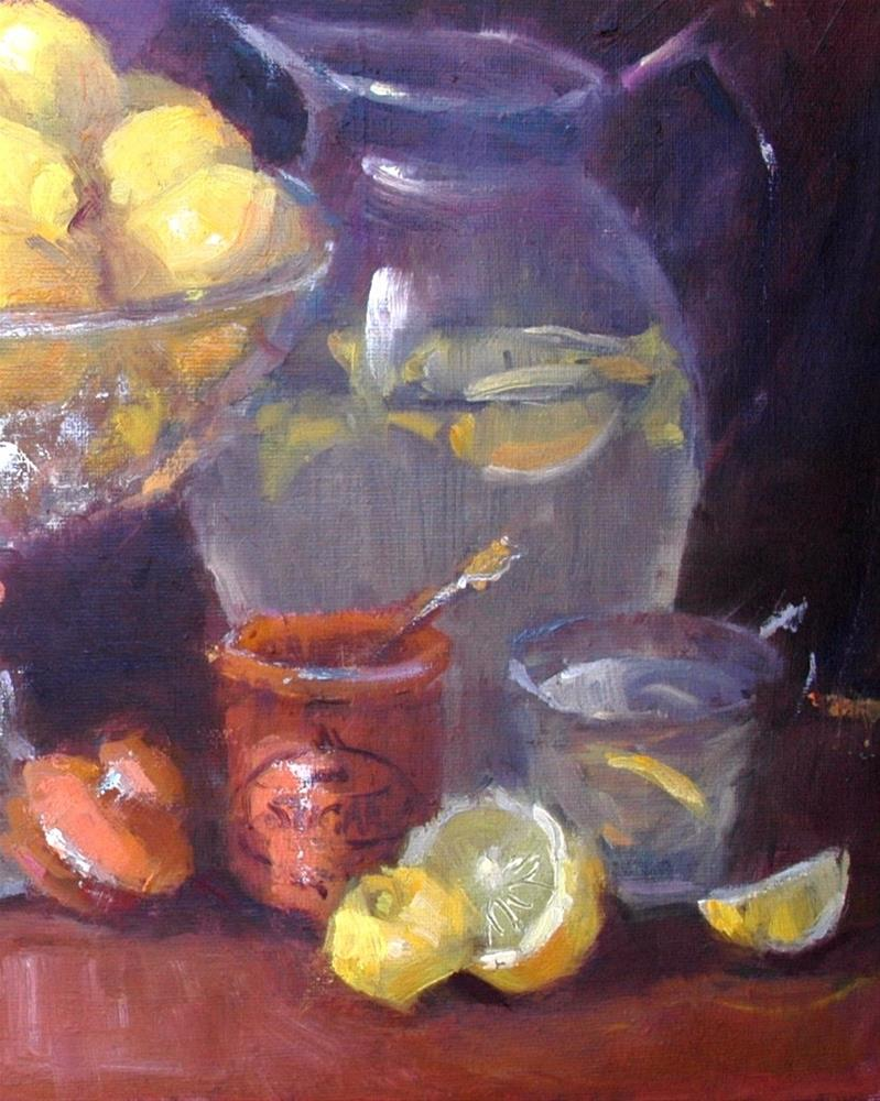 """Lemondrop"" original fine art by Johanna Spinks"