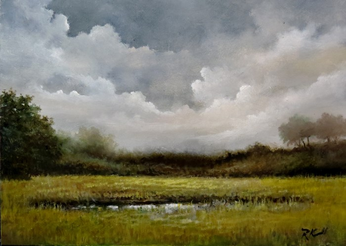 """""""After the Storm"""" original fine art by Bob Kimball"""