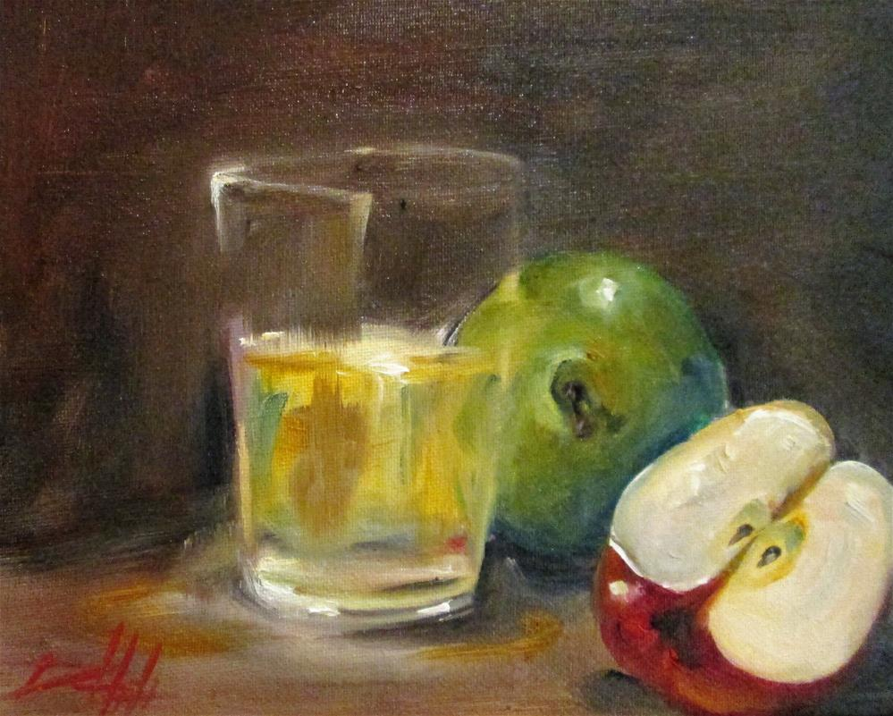 """Apples and Glass"" original fine art by Delilah Smith"