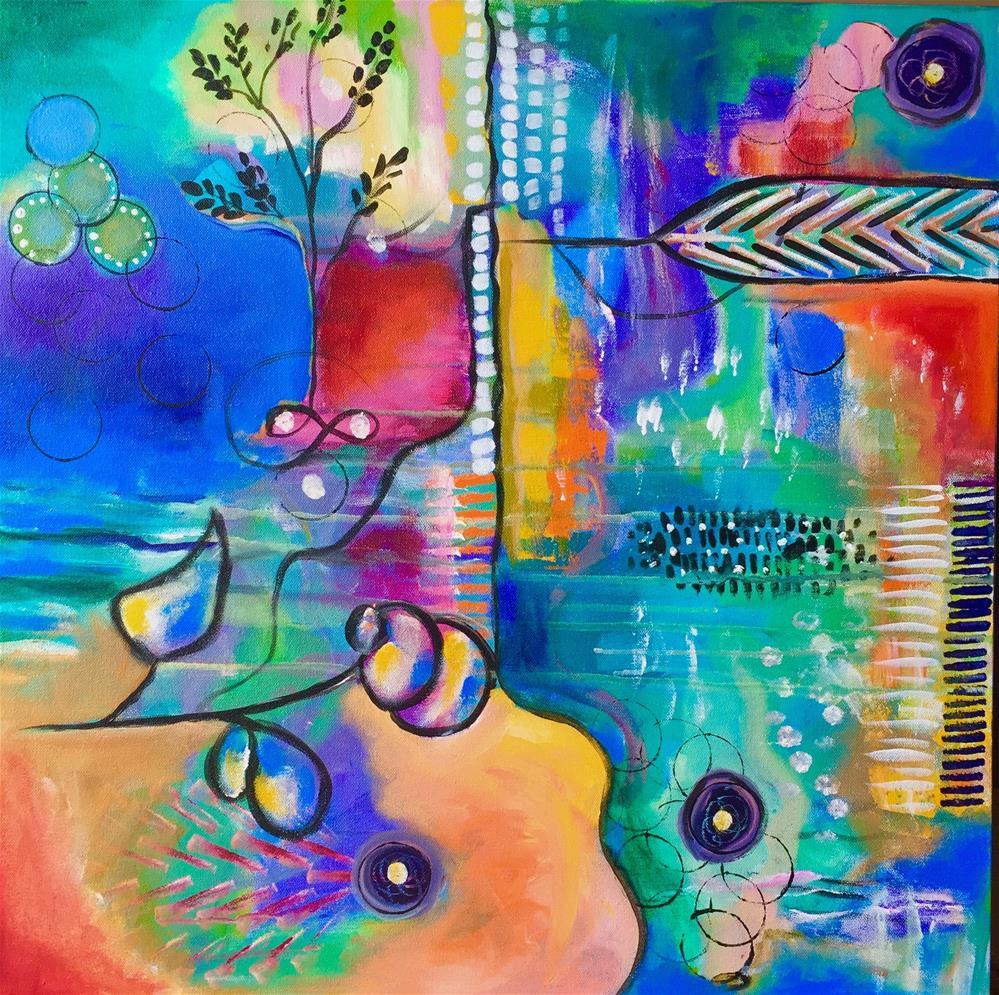 """Symphony"" original fine art by Susan Bertocci"