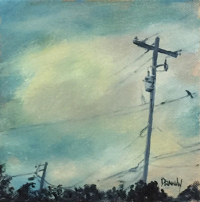 """Devereaux Avenue"" original fine art by Stephanie Drawdy"