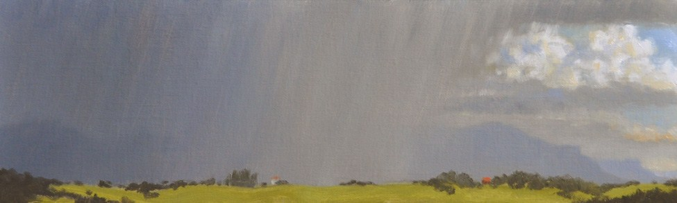 """PAAC Show Taos"" original fine art by Susan Matteson"