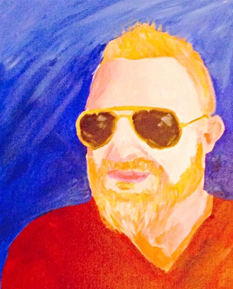 """Jason"" original fine art by Brenda Smith"