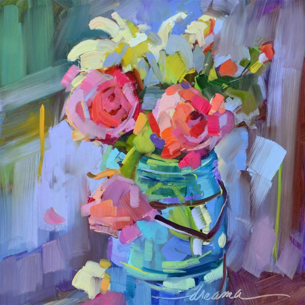 """""""Half Pint"""" original fine art by Dreama Tolle Perry"""