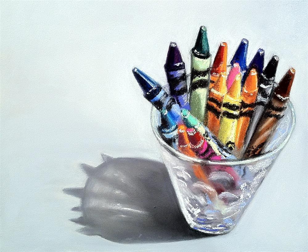 """""""Unbroken"""" original fine art by Cristine Kossow"""