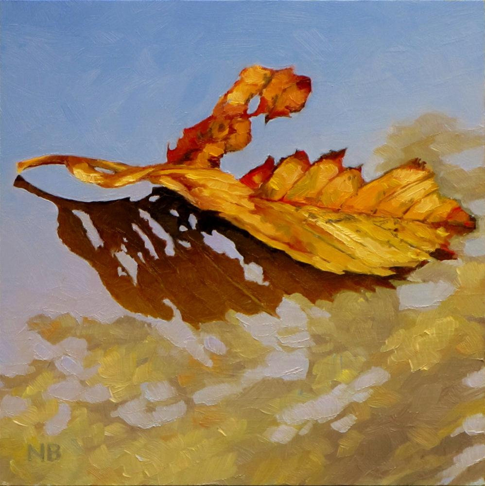 """Reflecting Elm"" original fine art by Nora Bergman"