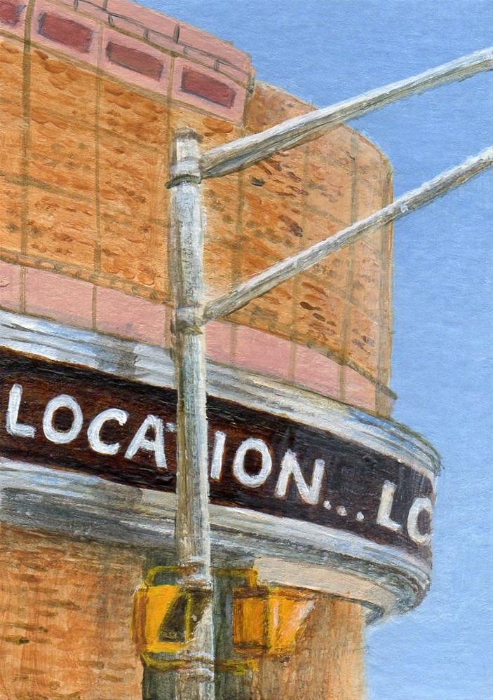 """Location"" original fine art by Debbie Shirley"