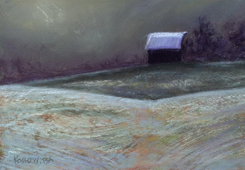 """Another Thaw"" original fine art by Cristine Kossow"