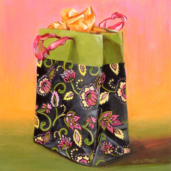 """The Gift"" original fine art by Kathleen Williford"